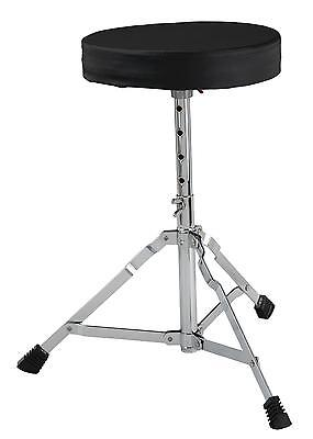 Drum Stool Percussion Seat Drum Set Chair 5 Way Adjustable Height 40-50cm Black