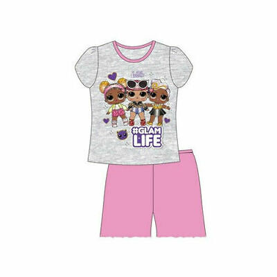 Brand New Girls Disney Minnie Mouse Short Pyjamas Ages 3-4, 5-6, 7-8, 9-10 Years