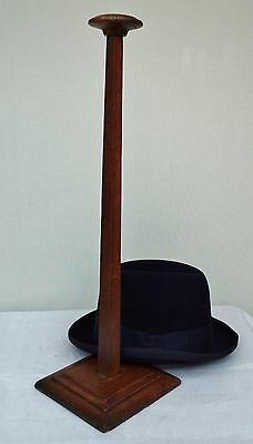 Original Vintage, Art Deco, Wooden Hat Stand, Millinery Shop Display.
