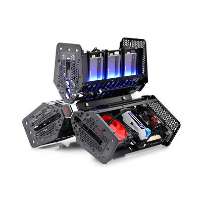 Case Cabinet Mini Itx Gaming Con Usb 3.0 Deepcool Slot 5X Hdd/ssd Pc Windows