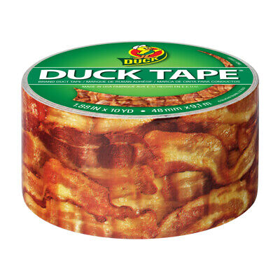 Duck Brand Duct Tape 1.88 in. W x 10 yd. L Bacon