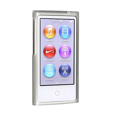 2X TPU Gummihaut-Case mit Apple iPod nano 7. Generation Transparent DE