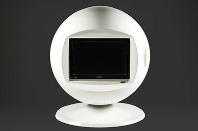 VINTAGE KERACOLOR SPACE AGE BALL SPHERE TV RETRO 60s 70s AARNIO COLOMBO EAMES