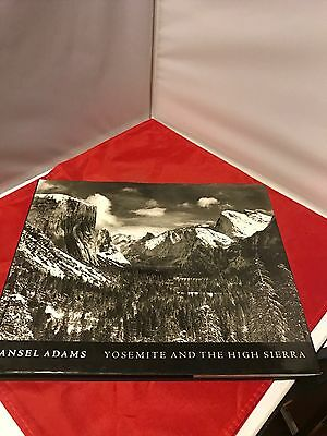 Yosemite and the High Sierra by Ansel Adams (1994, Hardcover)