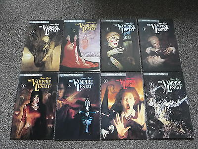 The Vampire Lestat Comics Numbers 1-8 Anne Rice No. # 1 2 3 4 5 6 7 8