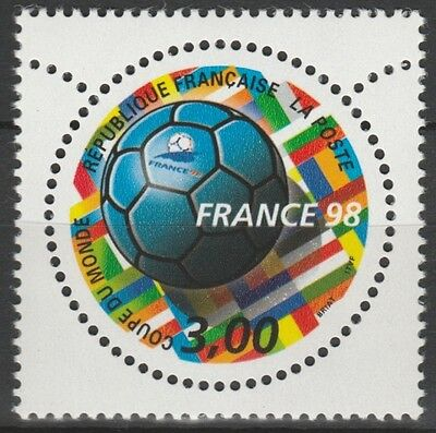 France 1998 n°3139 YT - Coupe du monde de football neuf**