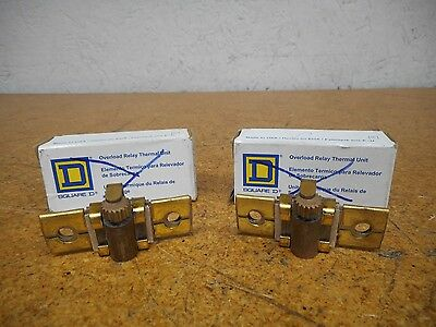 Square D B7.70 Overload Relay Thermal Units Used With Warranty (Lot of 2)