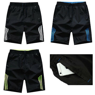 Mens Polyester Boardshorts Surf Board Shorts Swim Wear Beach Sports Trunks Pants