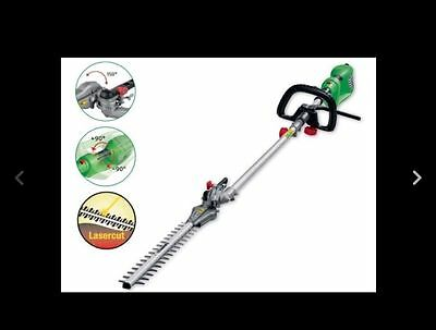 Forabest electric Long Reach Hedge Trimmer FHL 900 D4, up to 3.5m high,laser cut