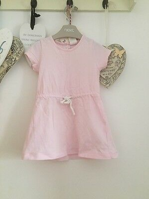 Baby Girls Pale Pink Summer dress Age 3-6 Months From H&M