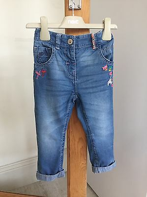 Next Girls Jeans 18-24 mouths / 1.5 - 2 years