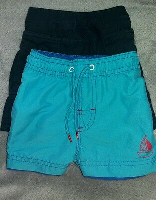 2 pairs of 6-9 months boys shorts from Next