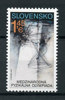 Slovakia 2017 MNH International Physics Olympiad 1v Set Science Stamps