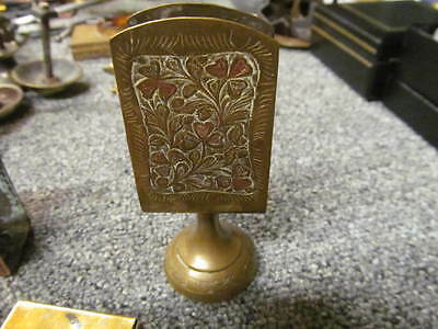 Pretty Vintage Table Top Match Box Holder Striker Cover