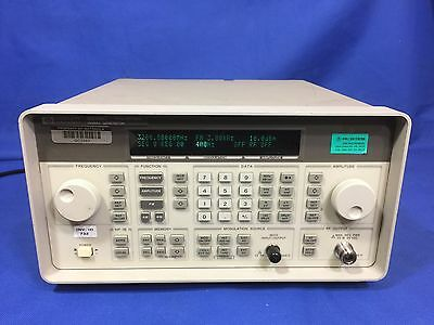 HP / Agilent / Keysight 8648C Signal Generator 9 kHz - 3200 MHz, Tested