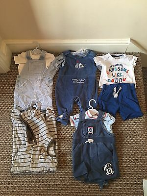 Baby Boys Outfit Bundle 3/6 Months
