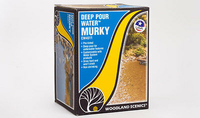 Deep Pour Water - Murky - Woodland Scenics CW4511 - free post P3