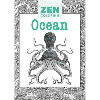 Guild Of Master Craftsman Books Zen Coloring Ocean GU-41222