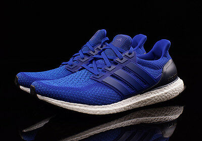 b2e524150 Adidas Ultra Boost M Collegiate Royal Blue Size 8.5. AQ5932 NMD Yeezy  uncaged
