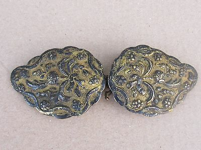 Rare Antique Ottoman Silver Gilded Belt Buckle - middle 19th.