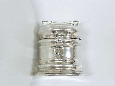Antique Sterling Silver Bell Shaped Coin Bank