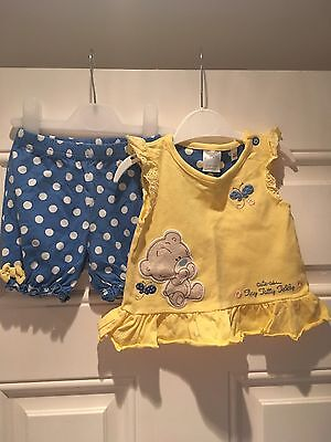 Baby Girl Me To You Tatty Teddy 2 Piece Set 3-6months