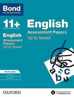 Bond 11+: English: Up to Speed Papers 10-11 Years by Frances Down 9780192740939