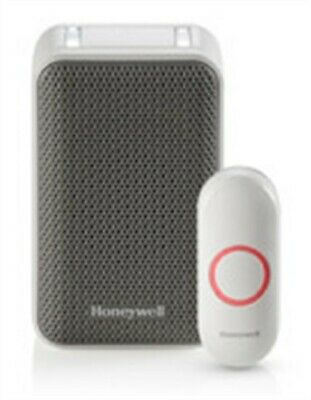 Honeywell RDWL311A White/Gray Wireless Portable Doorbell With Push Button