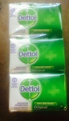 Dettol original maximum protection anti bacterial soap x6