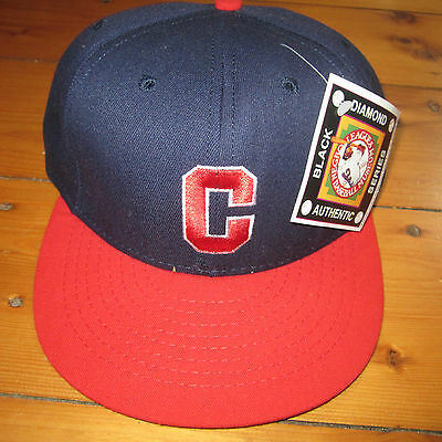 vtg NOS Indianapolis Clowns fitted HAT Negro League  Baseball 7 3/8 -1949 style