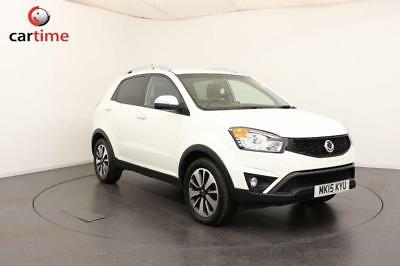 2015 15 Ssangyong Korando 2.0 Td Le Limited Edition 5D 147 Bhp Diesel