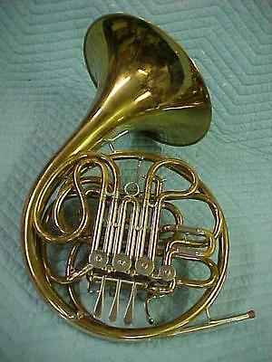 Vintage E G Conn 6D Artist F-Bb Double French Horn, Ready to Play Condition