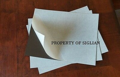 "2 SHEETS of 9"" X 12"" Self Adhesive Magnet, 23 MIL (Art and Craft, etc)"
