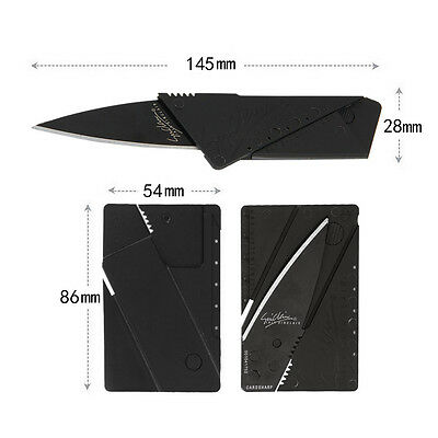 Multi-function Folding Wallet Knife Cardsharp Credit Card Camping Tools Outdoor