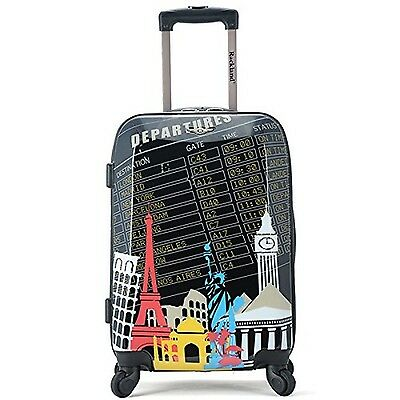 Rockland Luggage Polycarbonate Carry On Departure 20-Inch One Size