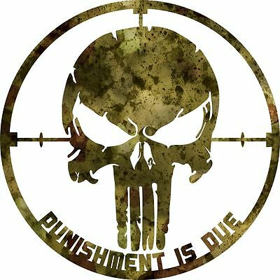 DXF CNC dxf for Plasma Router Clip Art Vector Punisher Punishment Is Due