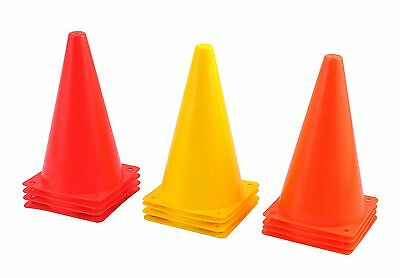 "Sets Of 4, 8 Or 20 Cones ( 45Cm 18"" ) Small Practice Cones Witches Hats Training"