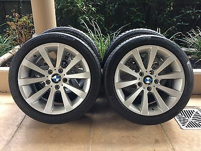 "17"" Genuine Bmw 3-Series *edition* E46/e90 Wheels & 20-30% Runflat Tyres"