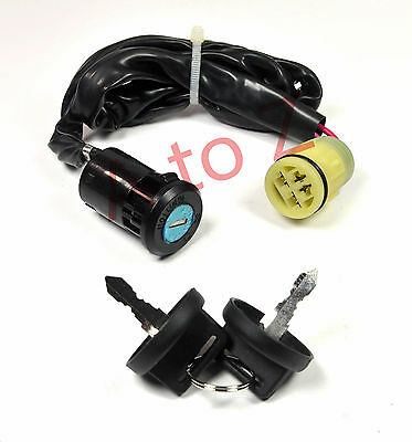 ATV, Side-by-Side & UTV Parts & Accessories IGNITION SWITCH KEY for HONDA TRX650FA RINCON 2003 2004 2005