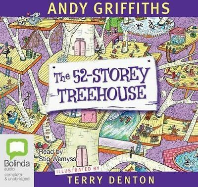 The 52 Storey Treehouse by Bolinda Publishing (CD-Audio, 2014)
