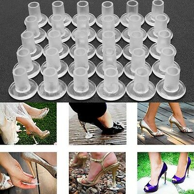 10/20/30pcs High Heel Protectors Stopper Stop Shoes Heel Sinking Stiletto Cover
