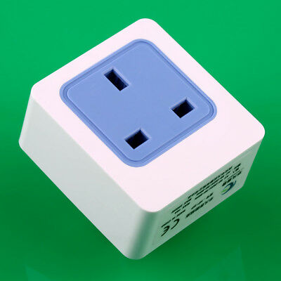 Smart WiFi Wireless Mobile APP Remote Control UK Plug Socket Switch Power Outlet