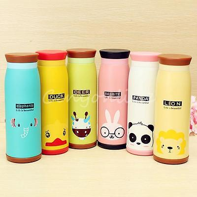 Lovely Stainless Steel Warm Vacuum Flask Thermos  Mug Coffee Cup Bottle 260-500M