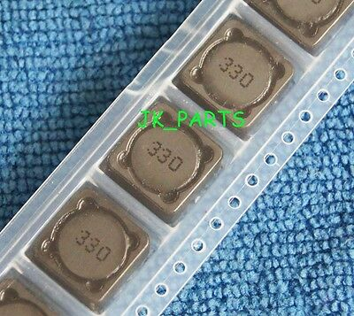 10pcs CD127 33uH 330 Shielded Inductor SMD Power Inductors 12x12x7mm