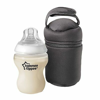 Tommee Tippee Insulated Travel Bottle Carrier  Warmer Closer to Nature New £9.99
