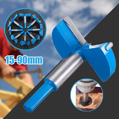 Forstner Woodwaorking Boring Wood Hole Saw Cutter Drill Bit Tool Hard Alloy New