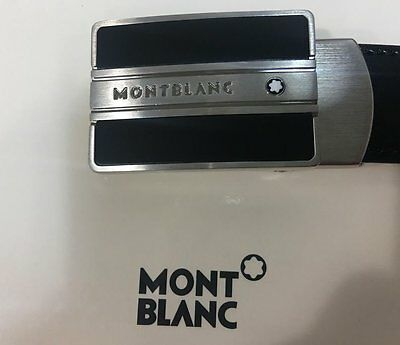 Montblanc 38156 Meisterstuck Reversible Leather Belt Authentic New