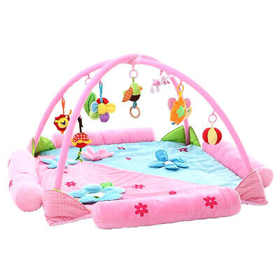 Infant Baby Kids Children Activity Gym Playmat Play Mat Crawling Tummy Time Soft