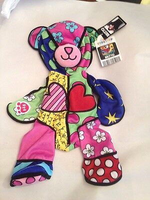 Build A Bear ROMERO BRITTO BEAR 13 in Plush Patterns Vary UNSTUFFED NEW