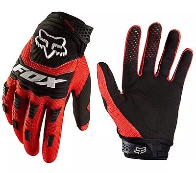 New Red Fox Motocross Enduro Cold Weather Gloves Mx Size M-L
